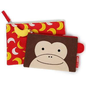 Kit necessaire zoo macaco Skip Hop