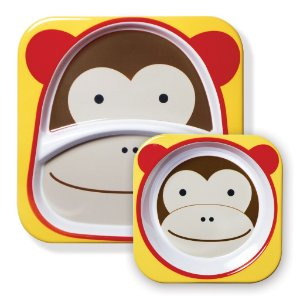 Set de pratos zoo macaco Skip Hop