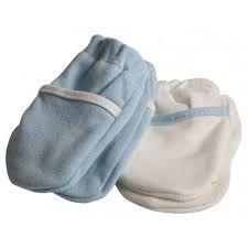 Luva de algodão para bebê 2 pares Safety 1st
