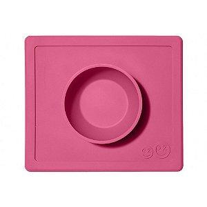 Jogo americano com bowl acoplado pink ezpz