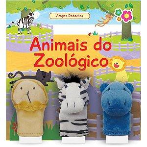 Livro animais do zoológico Dican