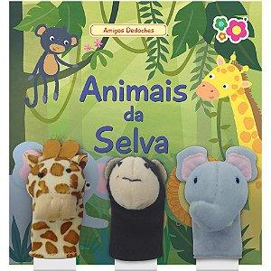 Livro animais da Selva Dican