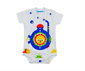 Body manga curta submarino Get baby