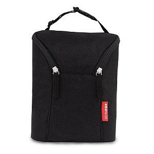 Bolsa térmica para mamadeira Double Bottle Bag Preta Skip Hop