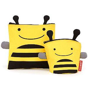 Saquinhos de lanche zoo abelha Skip Hop