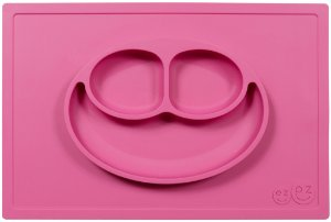 Jogo americano com prato pink ezpz