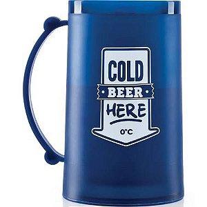 Caneca Congelável Cerveja Gelada