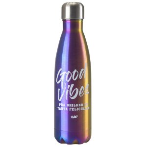 SQUEEZE TERMICO RETRO 500ML - GOOD VIBES