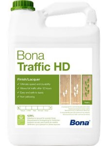 Bona  Traffic HD 4,95L  Semibrilho ( Acetinado)
