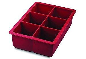 Forma p/Gelo Jumbo Tovolo -  Vermelha
