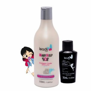 Socorro Mágico Platinum ( S.O.S Mary Help 500 ml + Magic Wand Platinum 35 ml )