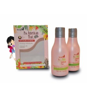Kit American Trat  (Shampoo 150 ml + Máscara 150 ml)