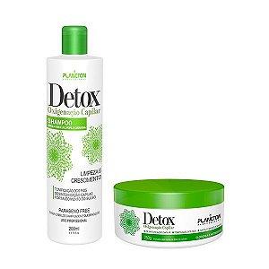 Kit Detox Oxigenação Capilar ( Shampoo 250ml + Máscara 250 g).