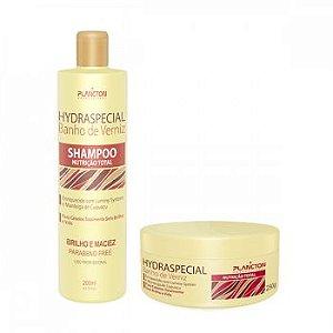 Kit Banho de Verniz Manteiga de Cupuaçu ( Shampoo + Máscara de 250 g)