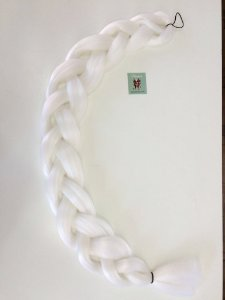 JUMBO ULTRA BRAID - 100% FIBRA - IMPORTADO - BRANCO