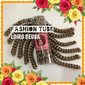 FASHION TUBE - FIBRA PARA CROCHET BRAIDS - COR LOIRO DEUSA 200 Gramas (Tamanho: 22cm Dobrado -  44cm Aberto)