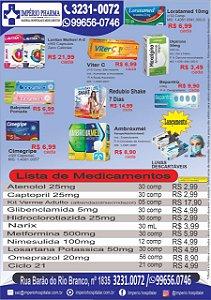 MEDICAMENTOS EM OFERTA