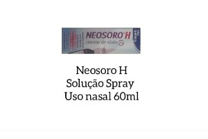 NEOSORO H SOLUCAO SPRAY