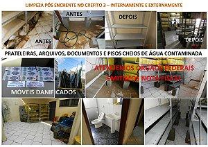 LIMPEZA PÓS ENCHENTE! EMPRESA ALTAMENTE LEGALIZADA E GANHADORA DE LICITAÇÕES FEDERAIS!