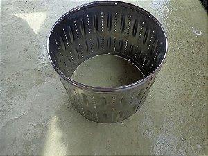 Cesto Inox Lavadora Ge 15.1 Kg (4 vezes sem juros)