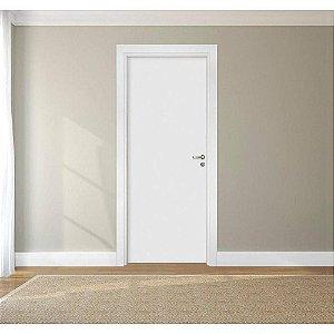 Porta Completa Branca Lisa 70cm X 2,10m - Direita - Paredes De 16cm À 23cm (Frete grátis Sorocaba)