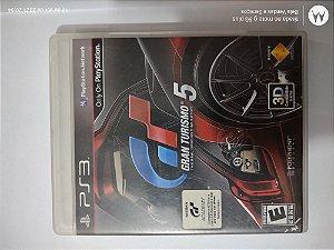 Jogo Gran Turismo 5 - PS3 Original e Midia Física