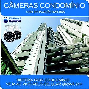 Aluguel 16 Câmeras Instalado