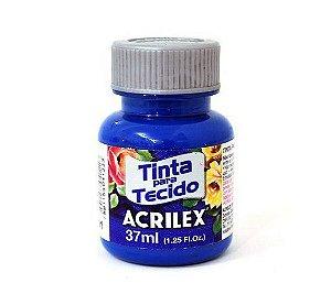 Tinta para Tecido Fosca 37ml Azul Turqueza Acrilex