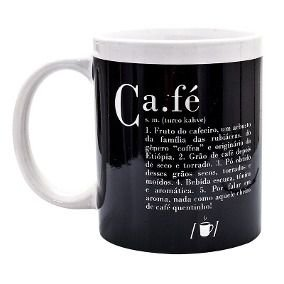 Caneca Dicionário de Café
