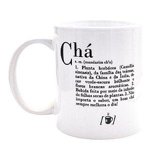 Caneca Dicionário de Chá
