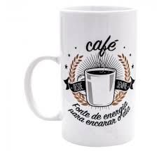 Caneca Café Fonte de Energia