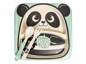 Conjunto para papinha Panda