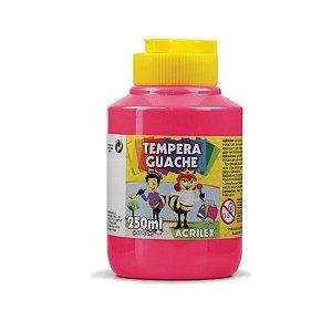 Tempera guache cores Acrilex 250ml
