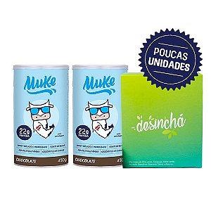 Compre 2 Potes Muke Chocolate - Ganhe 1 Desinchá