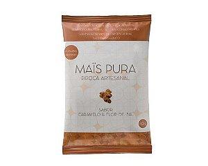 Pipoca Artesanal Mais Pura - Sabor Caramelo e Flor de Sal 150g