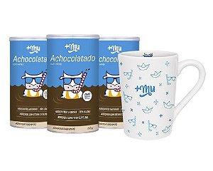 Compre 3 Achocolatados +Mu - Ganhe 1 Caneca Personalizada