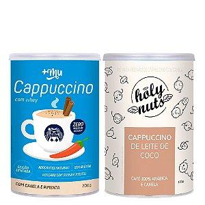 Combo Cappuccino Canela Pimenta + Cappuccino Leite de coco