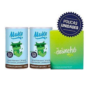 Compre 2 Potes Muke Proteína Vegetal - Ganhe 1 Desinchá