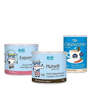 Lançamento Combo Mukafé + Exquenta + Cappuccino