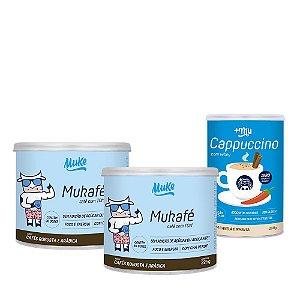 Lançamento Combo 2 Mukafé + Cappuccino Mais Mu