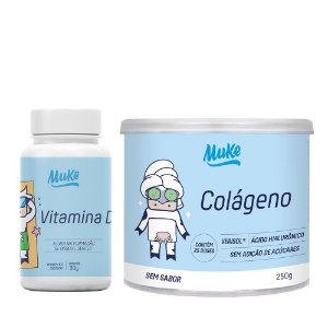Muke Care Combo Vitamina D + Colágeno