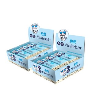 Mukebar Muke - Cookies'n Cream - (2 Caixas de 12 unidades) - 720g