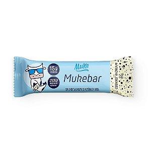 [Lançamento] Mukebar Muke - Cookies'n Cream (60g)   Muke Snacks