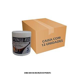 Graxa Grafitada POWER BRIL 500g - Caixa com 12 unidades