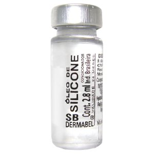 Ampola Silicone - 2,8ml c/ 25 unidades