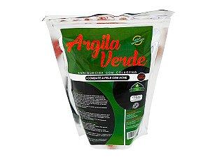 Argila Verde 500 Gramas. Para Peles Oleosas E Com Acne - 500 gramas