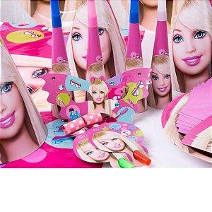 Kit para Aniversários Barbie 14 Peças x 10 unidades