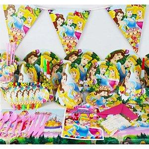 Kit para Aniversários Princesa 14 Peças x 10 unidades