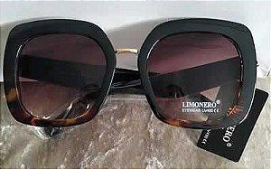 Oculos de Sol quadrado Tartaruga