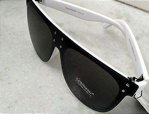 Oculos de Sol Oversized Branco 0021